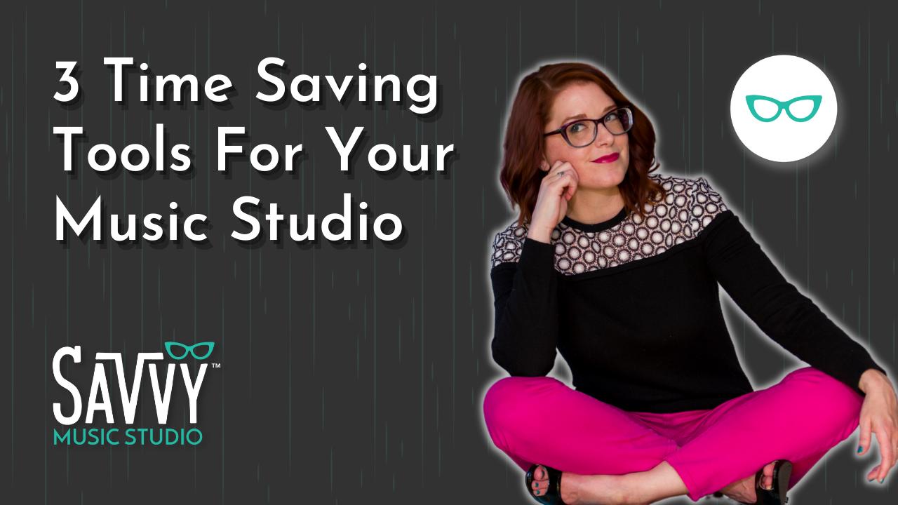 3 Time Saving Tools For Your Music Studio