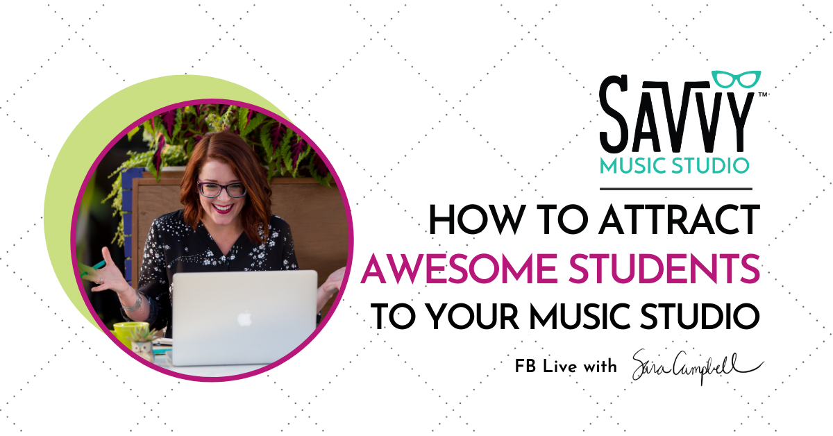 finding awesome students for your music studio through marketing on websites and social media