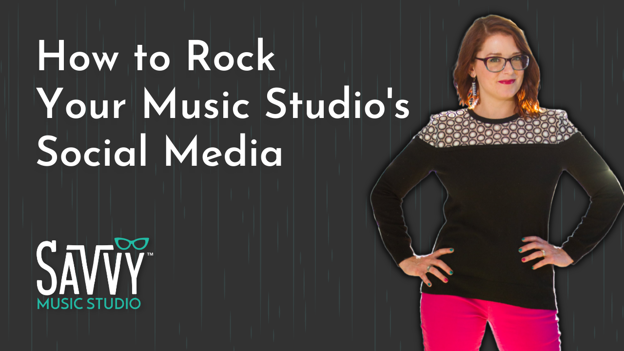 How to Rock Your Music Studio's Social Media