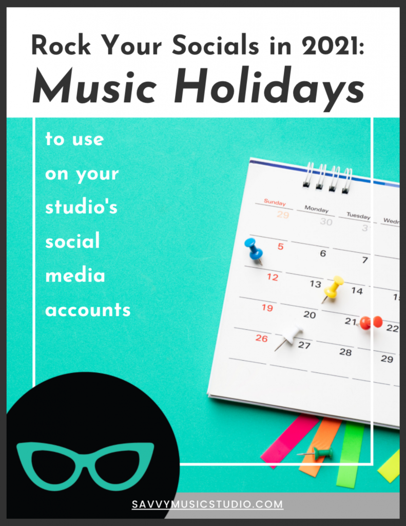 rock your music studio's social media